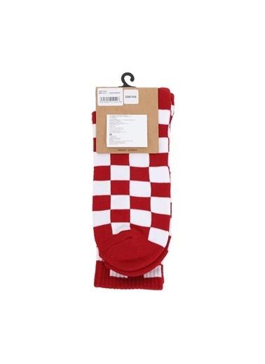 Vans Spor Çorap Kırmızı
